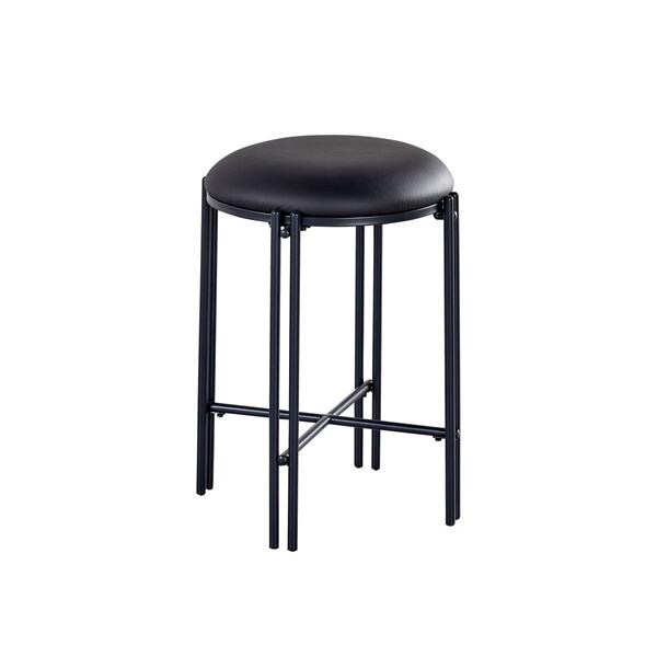 Morgan Black Counter Stool