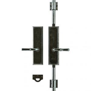 """Rectangular Cremone Bolt Set - 3"""" x 11"""" Silicon Bronze Brushed Product Image"""