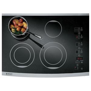 """GE Monogram® 30"""" Digital Electric Cooktop Closeout"""