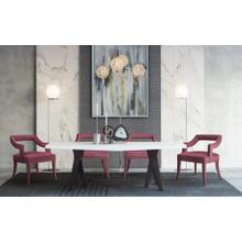 View Product - Tiffany Pink Slub Velvet Chair