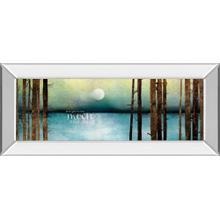 """Love You To The Moon And Back"" By Marla Rae Mirror Framed Print Wall Art"