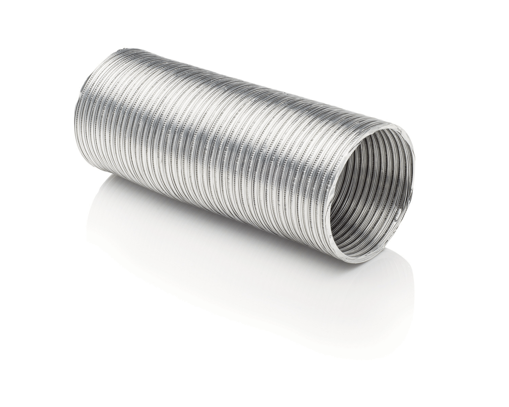 FrigidaireSmart Choice 5' Long 4'' Semi-Rigid Dryer Vent Pipe Without Clamps
