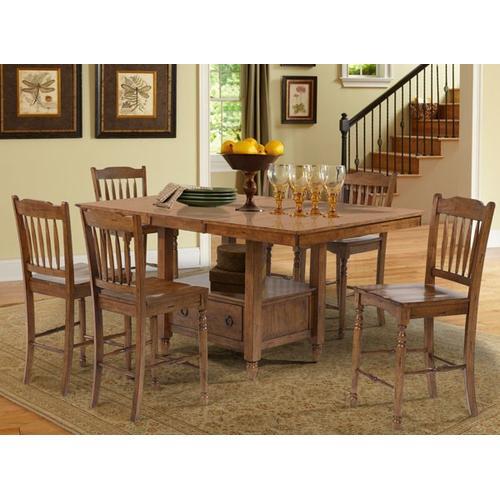 Rectangular Gather Height Storage Table
