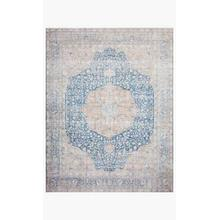View Product - LAY-07 Blue / Tangerine Rug