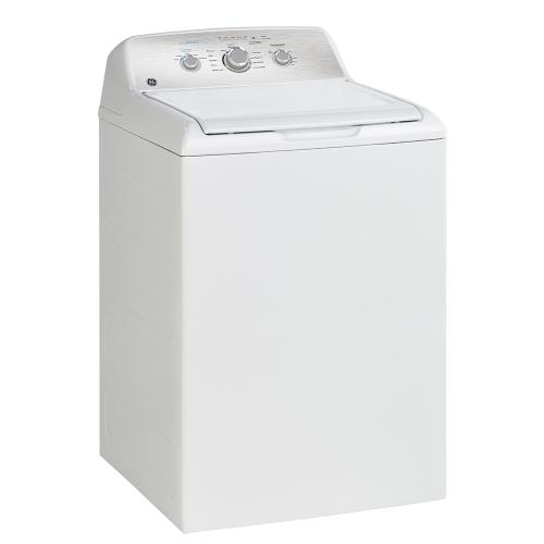 GE Appliances Canada - GE 4.4 Cu. Ft. Top Load Washer with SaniFresh Cycle White - GTW331BMRWS