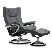 View Product - Stressless Wing (L) Signature chair