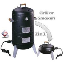 See Details - 5030 Water Smoker Electric Grill