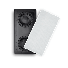 View Product - SpeakerCraft Dual 8-in (200mm) In-Wall Subwoofer