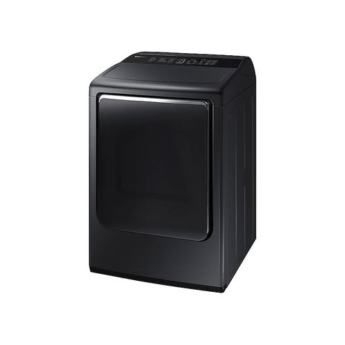 7.4 cu. ft. Electric Dryer with Integrated Touch Controls in Black Stainless Steel