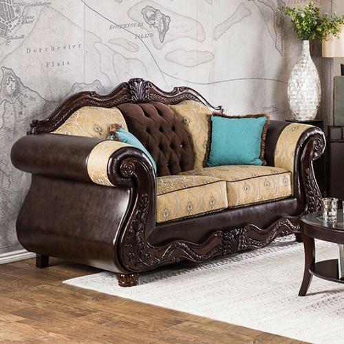 Furniture of America - Wexford Love Seat