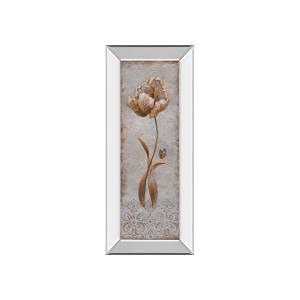 Tulip & Butterfly II By Nan (mirrored Frame)