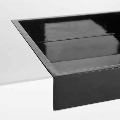 Wesley Coffee Table - White & Black