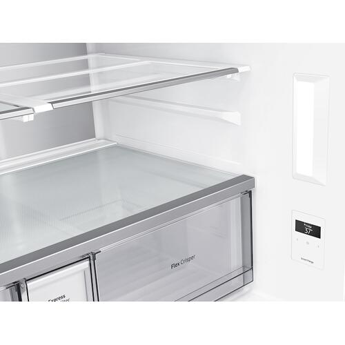 29 cu. ft. Smart 4-Door Flex™ refrigerator with AutoFill Water Pitcher and Dual Ice Maker in Stainless Steel