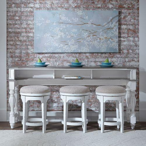 Product Image - 4 Piece Console Set (1-Console 3-Stools)