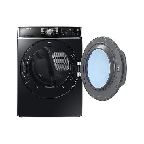 9.5 cu. ft. Electric Dryer in Black Stainless Steel
