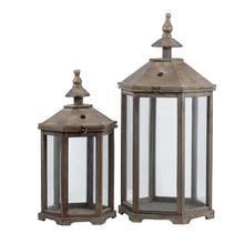 View Product - S/2 Garden Lanterns