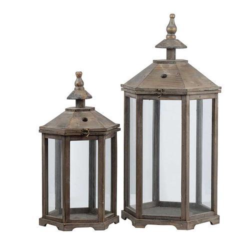 S/2 Garden Lanterns