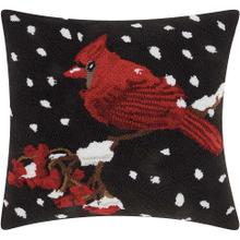 "Home for the Holiday Yx020 Multicolor 18"" X 18"" Throw Pillow"