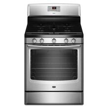 5.8 cu. ft. Capacity Gas Range with 17,000-BTU Speed Heat Burner