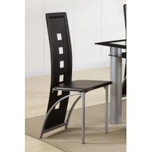Tall Counter Height Chair, Black