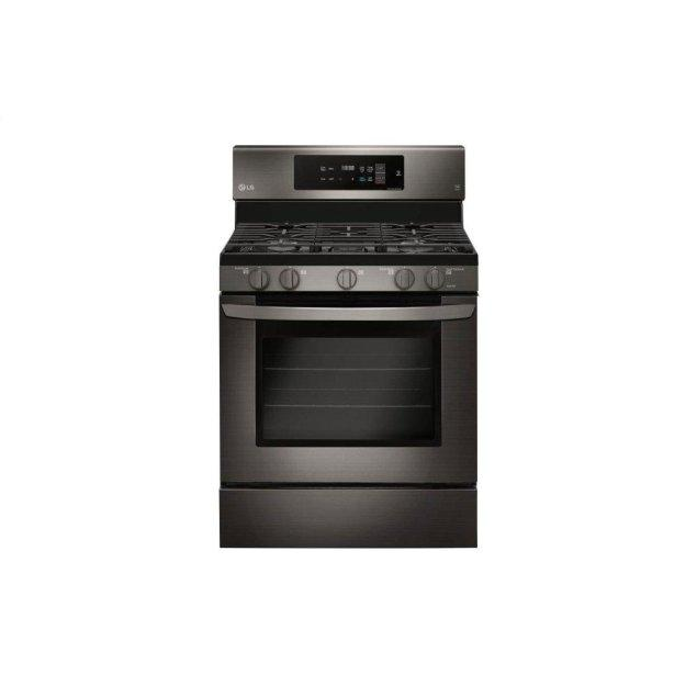 LG Appliances 5.4 cu. ft. Gas Single Oven Range with Fan Convection and EasyClean®