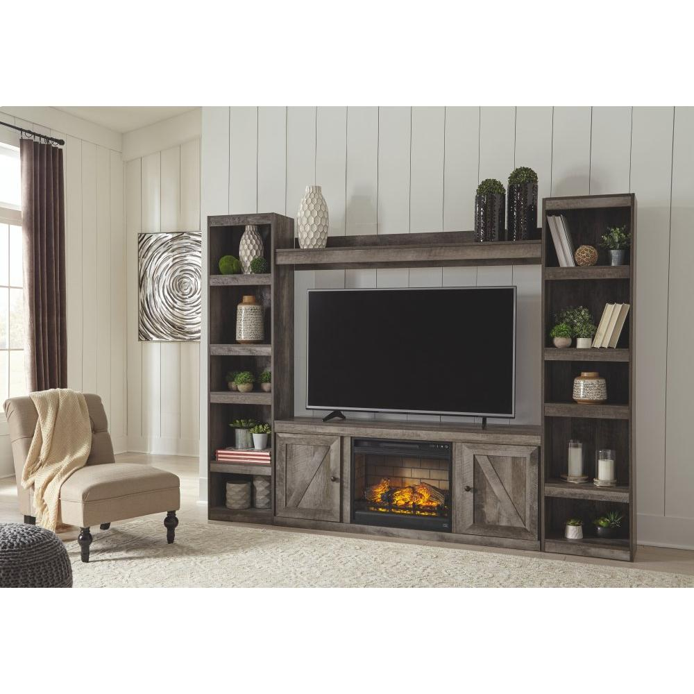 Product Image - Wynnlow 4-piece Entertainment Center With Electric Fireplace