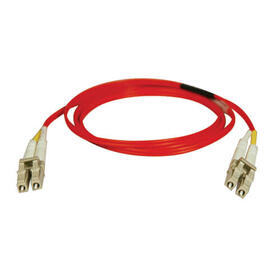 Duplex Multimode 62.5/125 Fiber Patch Cable (LC/LC) - Red, 20M (65 ft.)