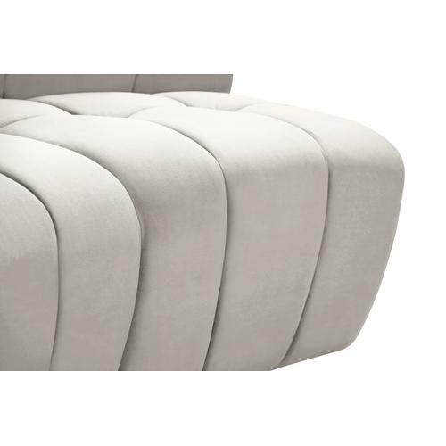 "Limitless Modular Velvet 8pc. Sectional - 173"" W x 86"" D x 31"" H"