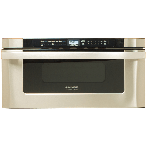 Sharp - Sharp Microwave Drawer Oven, 30 in. 1.2 cu. ft. 1000W Stainless Steel