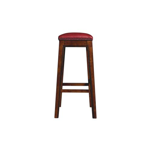 """Fiesta 30"""" Backless Bar Stool in Red"""