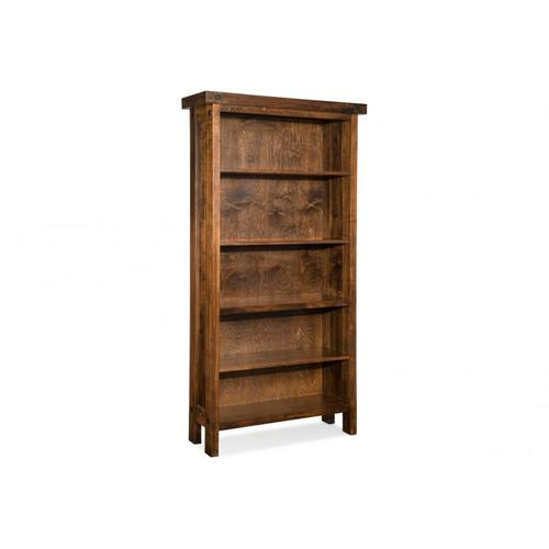 Rafters Open Bookcase w/3 Adjustable Shelves