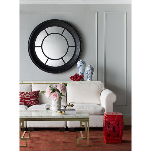 A & B Home - Round Decorative Mirror
