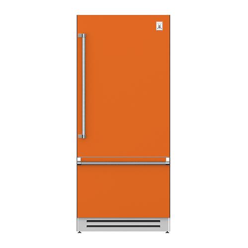 "Hestan - 36"" Bottom Mount, Bottom Compressor Refrigerator - KRB Series - Citra"
