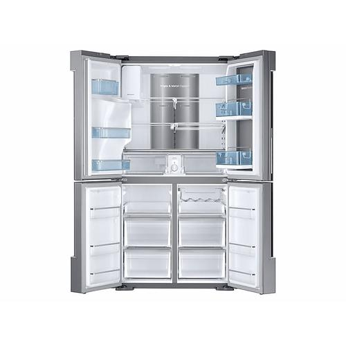 28 cu. ft. Food Showcase 4-Door Flex™ Refrigerator with FlexZone™ in Stainless Steel