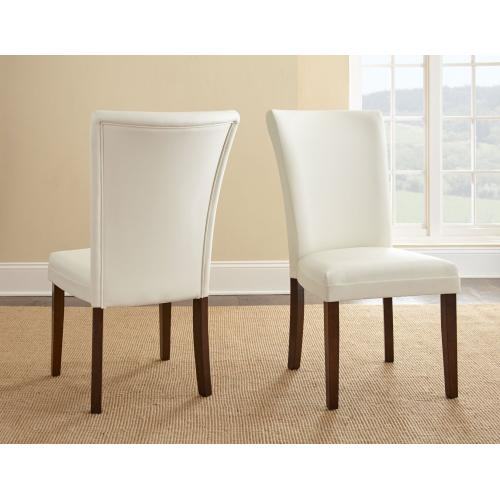 Gallery - Berkley 7 Piece Set (Glass Top Table & 6 Side Chairs)