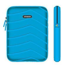Polaroid Plush Neoprene iPad 2 and iPad 3 Protective Sleeve, Blue - PAC160BL