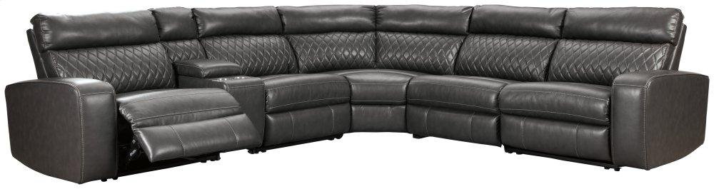 Samperstone 6-piece Power Reclining Sectional
