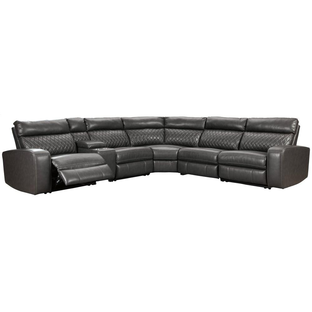 Product Image - Samperstone 6-piece Power Reclining Sectional