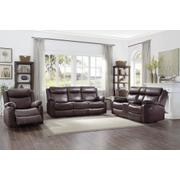 Double Lay Flat Reclining Love Seat with Center Console Product Image