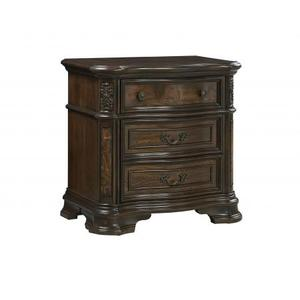 Royale Nightstand w/USB and Pwr Outlet