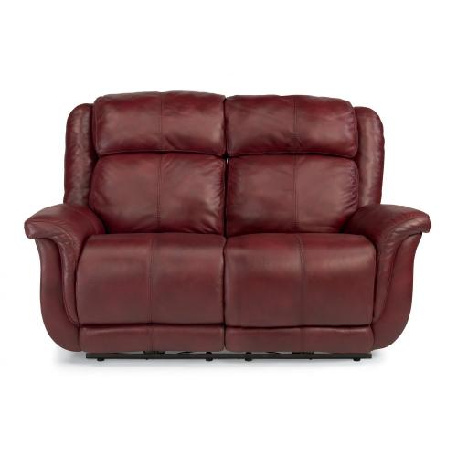 Product Image - Brookings Leather Power Reclining Loveseat