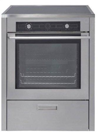 """30"""" (76cm) Stainless Steel Induction Range"""