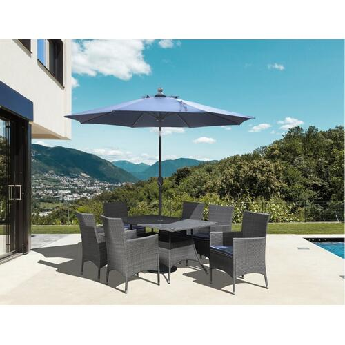Emerald Home Ridgemonte Umbrella-blue Od1104-10umb