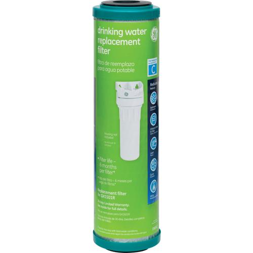 GE Appliances - Replacement Water Filter - Single Stage Undersink System