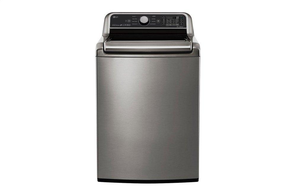 LG Appliances5.0 Cu.Ft. Smart Wi-Fi Enabled Top Load Washer With Turbowash3d™ Technology