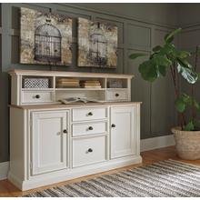Sarvanny Home Office Desk Hutch