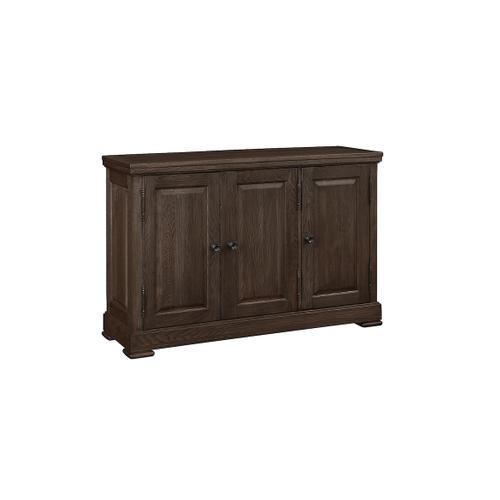 Bassett Furniture - Hawkins Oak Three Door Huntboard