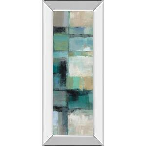 """Island Panel 2"" By Silvia Vassileva Mirror Framed Print Wall Art"