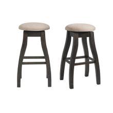 """Product Image - Stone 30"""" Swivel Backless Bar Stool Set"""