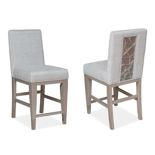 Magnussen Home - Counter Chair w/Upholstered Seat and Back (2/ctn)